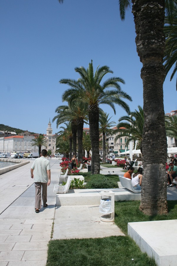 Hafenpromenade in Split